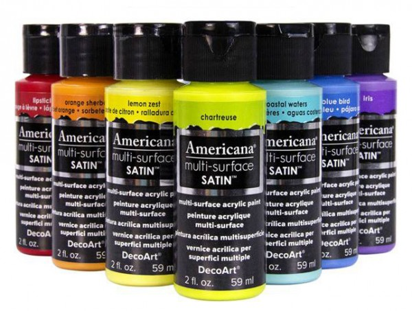 Image of Multi-surface Premium Satin Acrylics by Americana