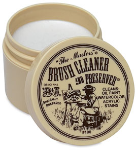 Brush Cleaner & Preserver by The Master's