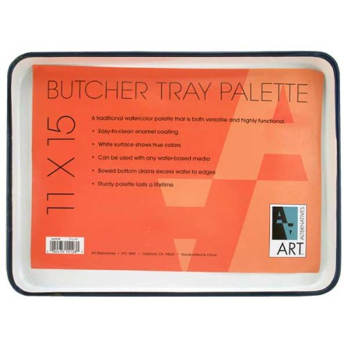 Image of Butcher Tray Palettes by Art Alternatives