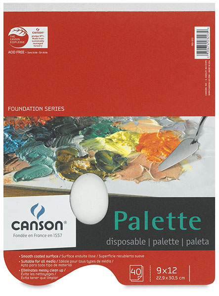Image of Disposable Palette by Canson