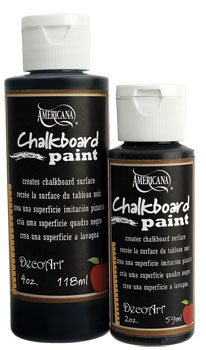 Image of Chalkboard Paint by Americana/DecoArt