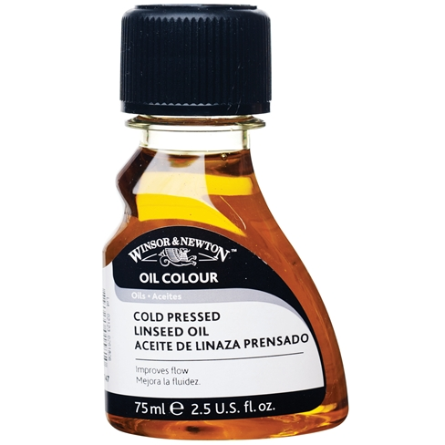 Image of Cold-Pressed Linseed Oil by Winsor & Newton
