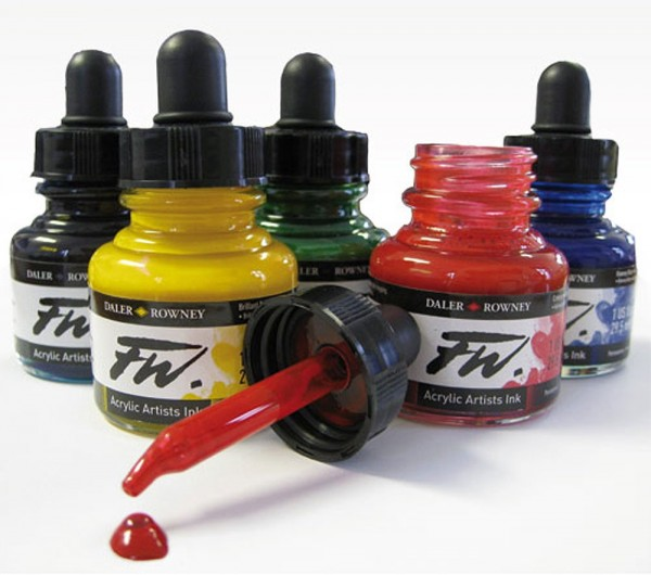 Image of Daler Rowney Acrylic Artists Ink