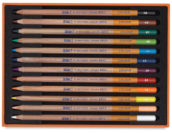 Image of Design Colored Pencils by Bruynzeel