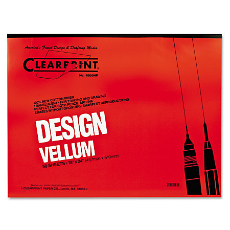 Image of Drafting/Design Vellum by Clearprint