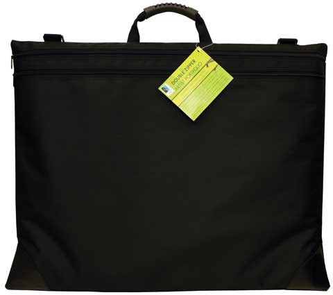 Image of Double Zipper Portfolio Bag by Art Alternatives