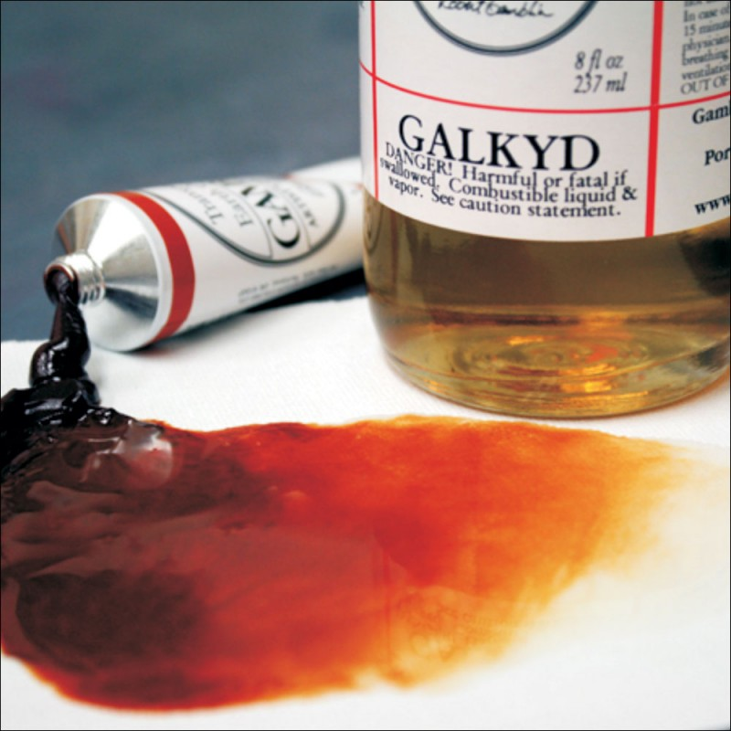 Image of Galkyd Oil Painting Medium by Gamblin
