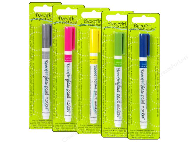 Image of Glass Paint Markers by DecoArt