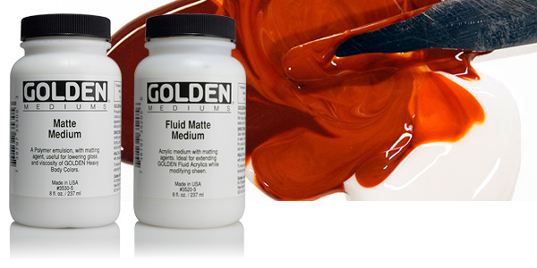 Image of Fluid Mediums by Golden Acrylics