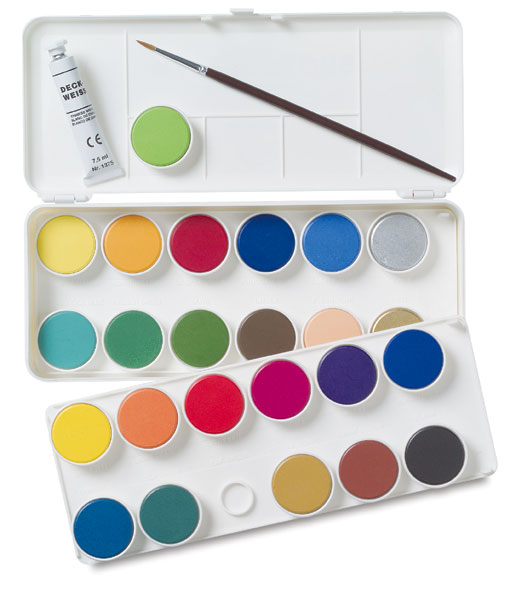 Image of Watercolor Pan Sets by Grumbacher