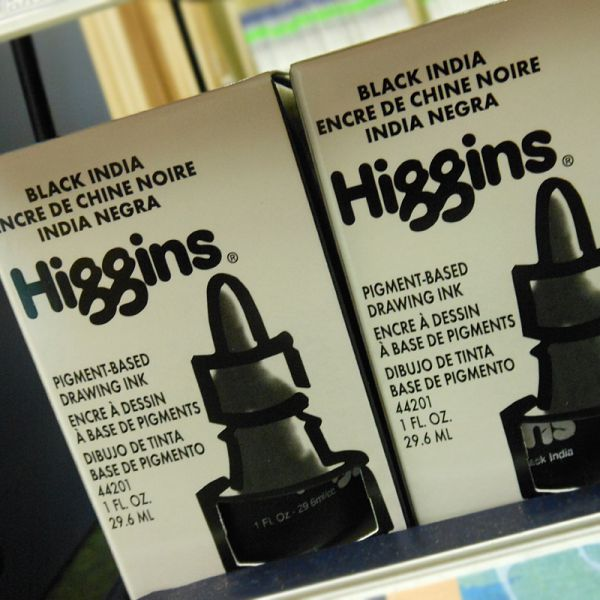 Image of India Ink by Higgins