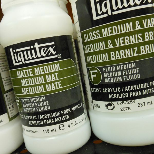 Image of Acrylic Mediums by Liquitex