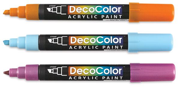 Image of Acrylic Paint Markers by DecoColor