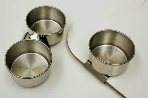Image of Stainless Steel Palette Cups by Art Alternatives