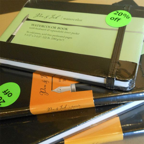 Image of Art Journals by Pen & Ink