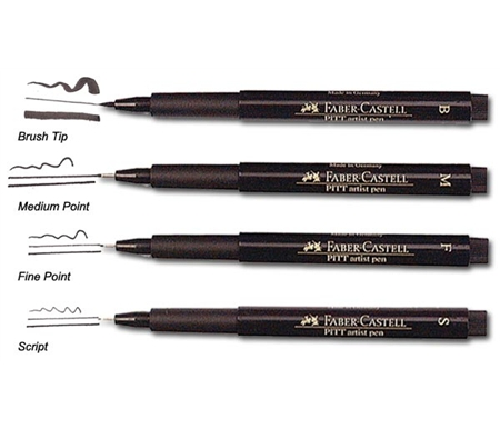 Image of Pitt Artistic Pens by Faber-Castell