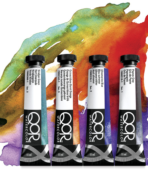 Image of QoR Watercolors by Golden Acrylics