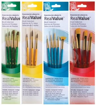 Image of RealValue Brushes by Princeton Art & Brush Co.