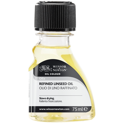 Image of Refined Linseed Oil by Winsor & Newton