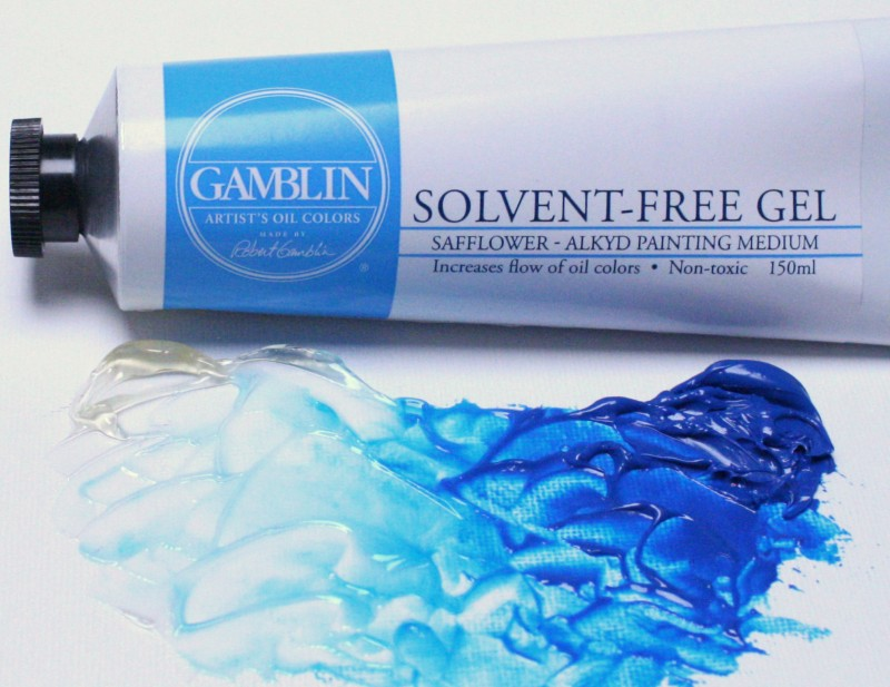 Image of Solvent-Free Gel Painting Medium by Gamblin Artist's Oil Colors