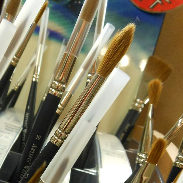 Image of Kolinsky Sable Watercolor Brushes by Winsor & Newton