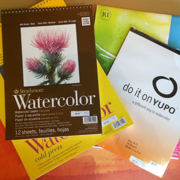Image of Watercolor Pads