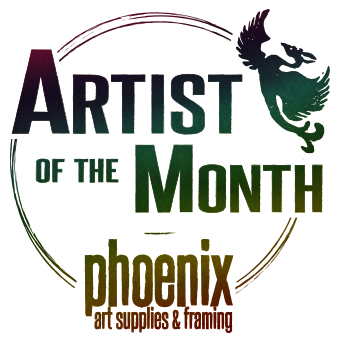Bucks County Artist of the Month logo