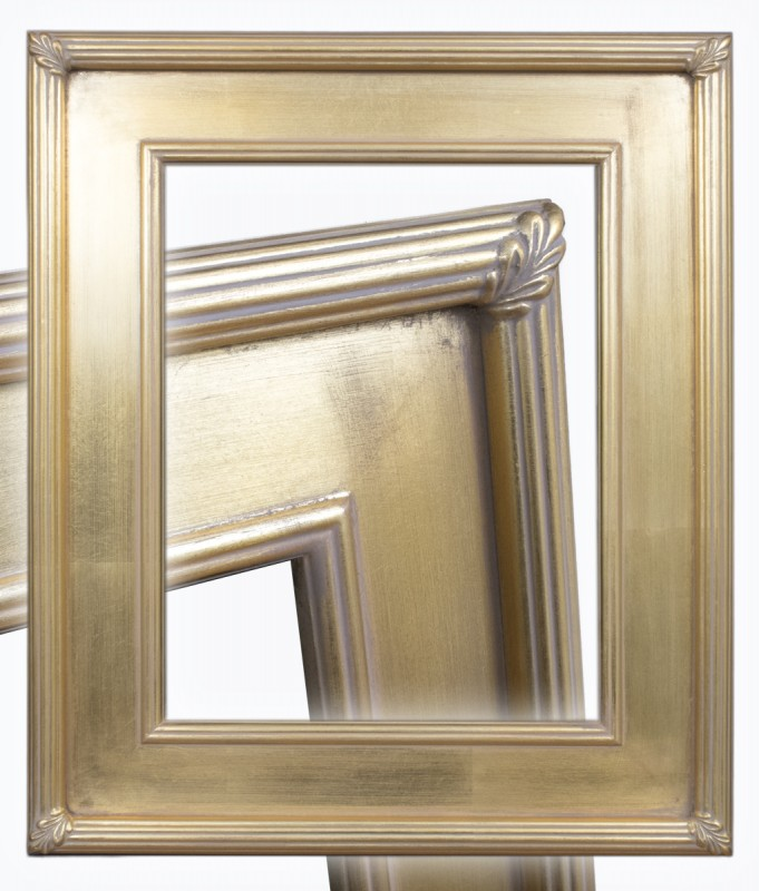Gold ready-made Plein Air Frame