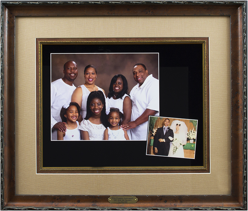 Image of Framed Family Portrait