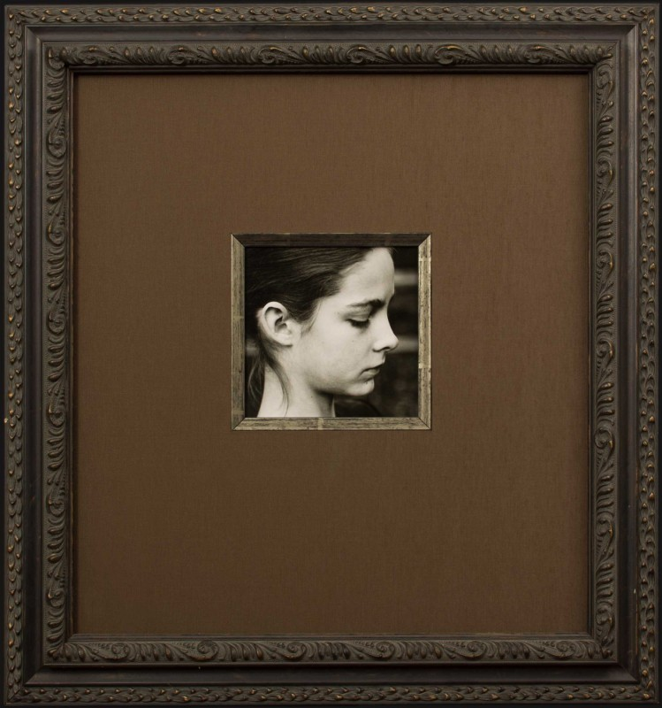 Image of Portrait Photograph in Decorative Picture Frame