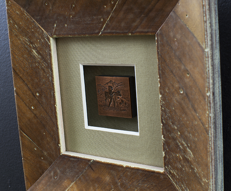 wood frame detail