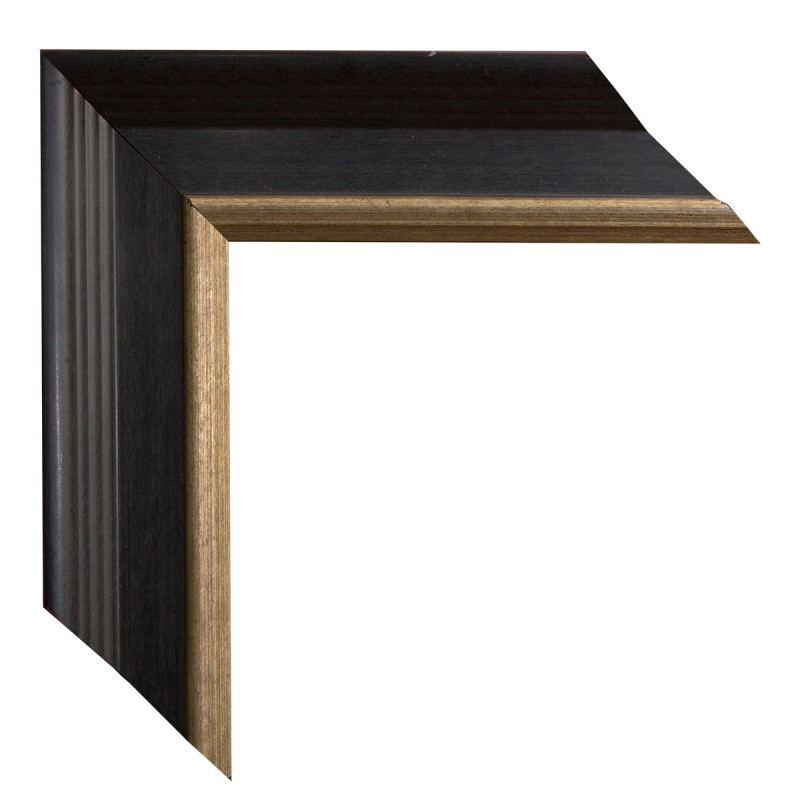 Black Plein Air Frame with Gold lip