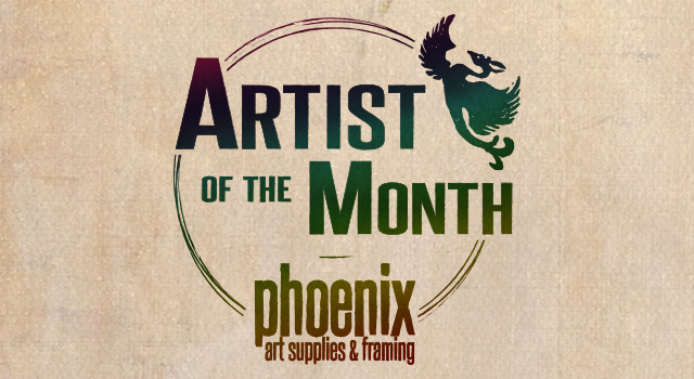 Artist of the Month at Phoenix Art Supplies