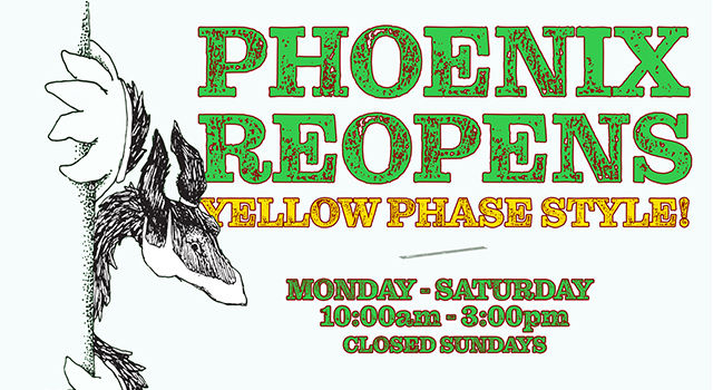 Phoenix Reopens Yellow Phase Info