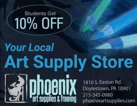 10% OFF Student Discount Art Supplies